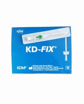 Kaniula dożylna KD-FIX 1,3x45mm 18G