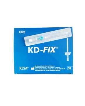 Kaniula dożylna KD-FIX 0,9x25mm 22G