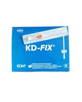 Kaniula dożylna KD-FIX 2,1x45mm 14G