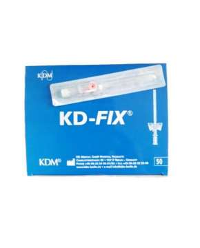 Kaniula dożylna KD-FIX 1,1x40mm 20G